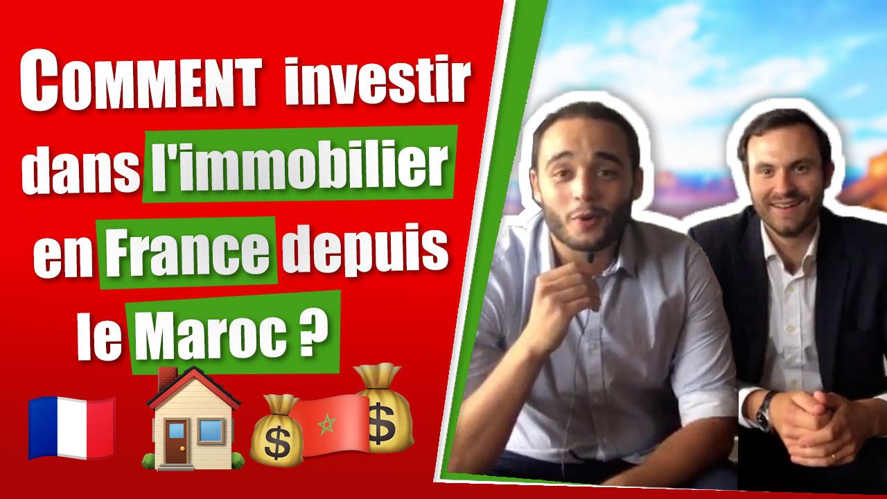 comment investir dans l 39 immobilier en france depuis le maroc. Black Bedroom Furniture Sets. Home Design Ideas